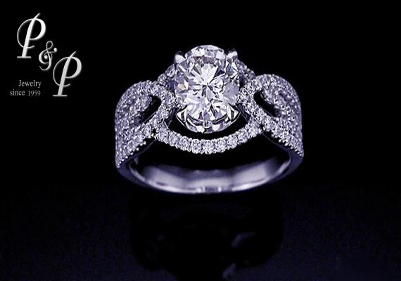 Diamond ring 0.90 carat 
